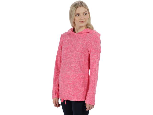 Regatta Chantile Sweat à capuche en polaire Femme, hot pink